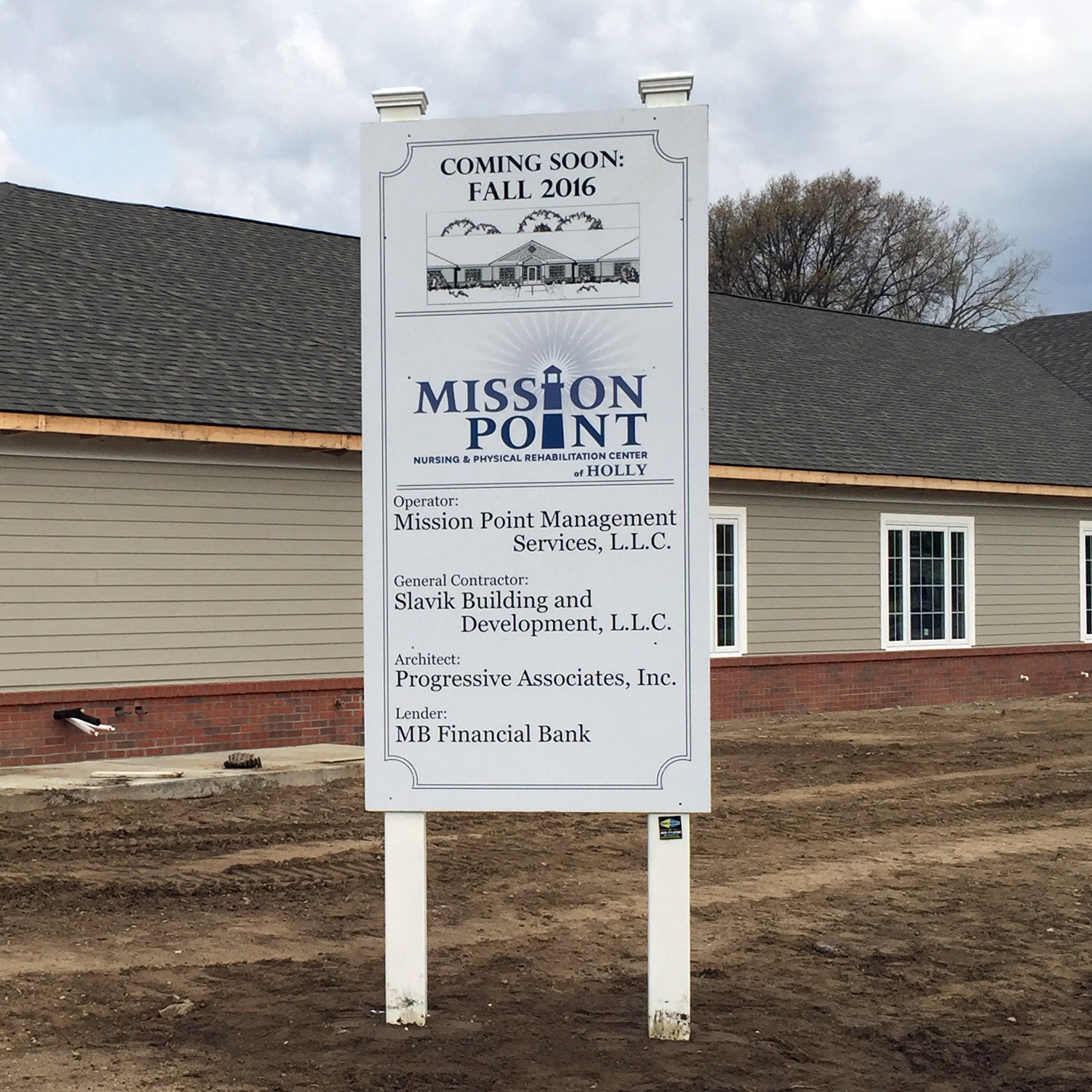 Custom Site Signs