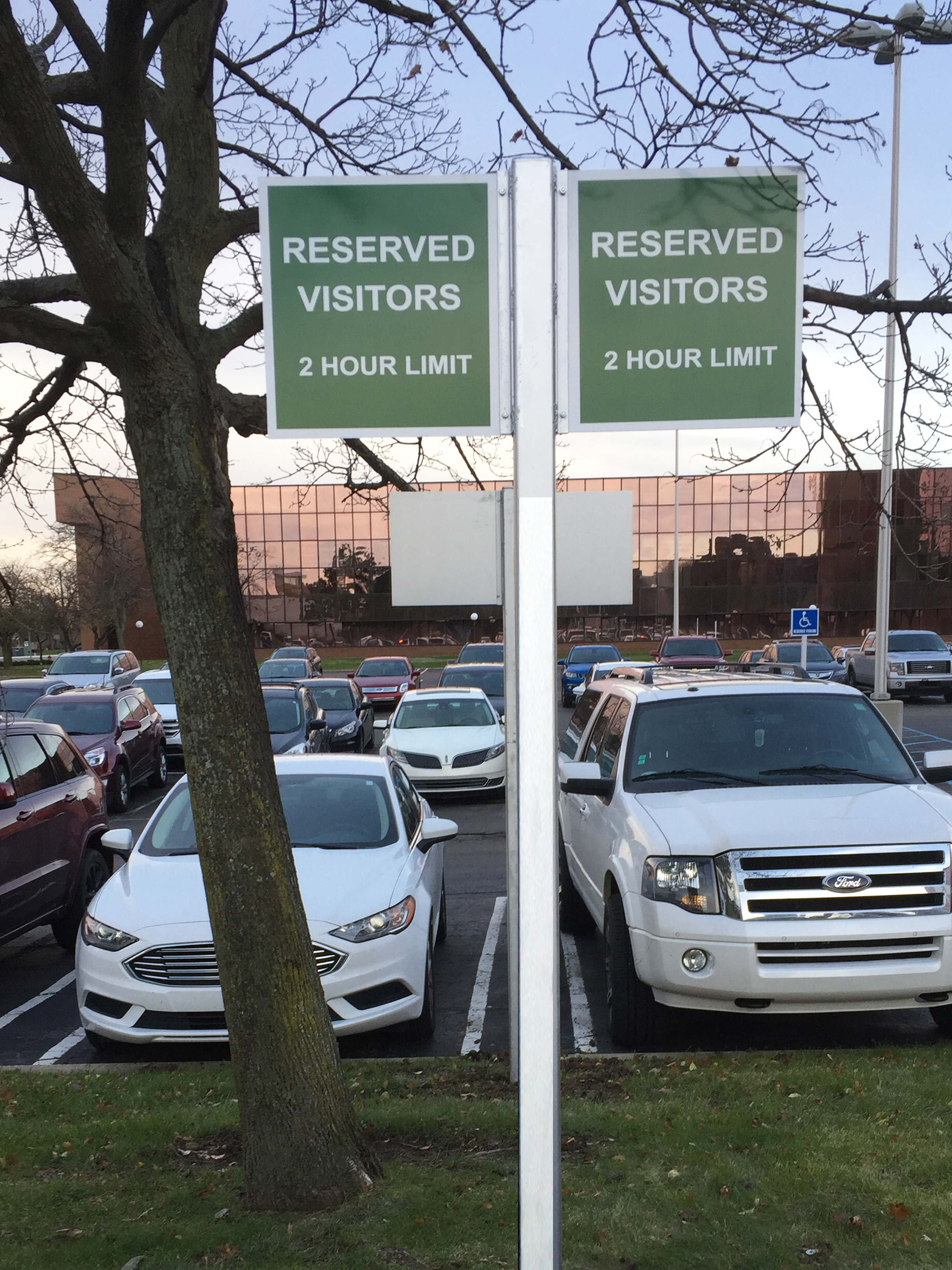 Parking Lot & Traffic